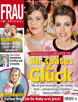 Frau im Spiegel NR.16 2015