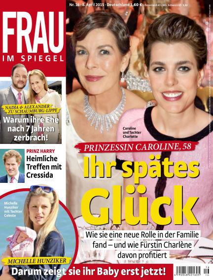 Frau im Spiegel April 08, 2015 00:00