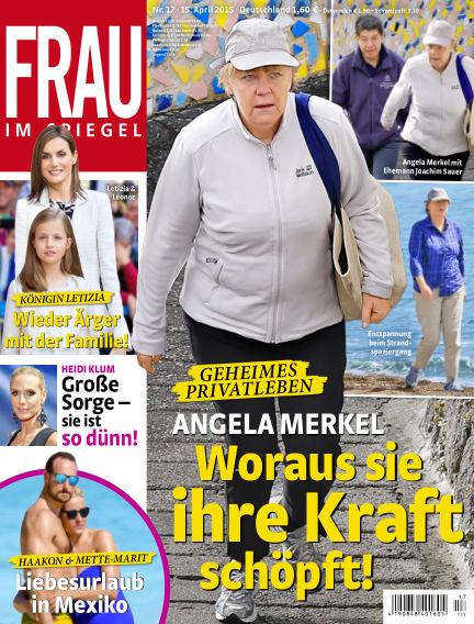 Frau im Spiegel April 15, 2015 00:00
