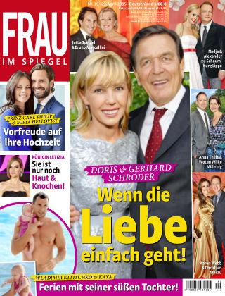 Frau im Spiegel NR.19 2015