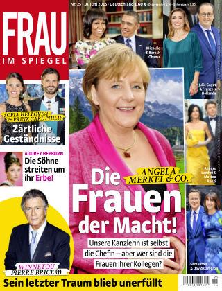 Frau im Spiegel NR.25 2015
