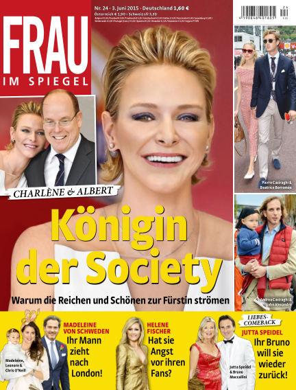 Frau im Spiegel June 03, 2015 00:00