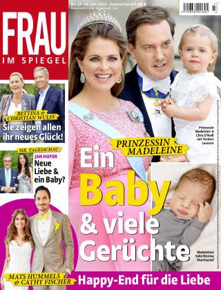 Frau im Spiegel NR.27 2015