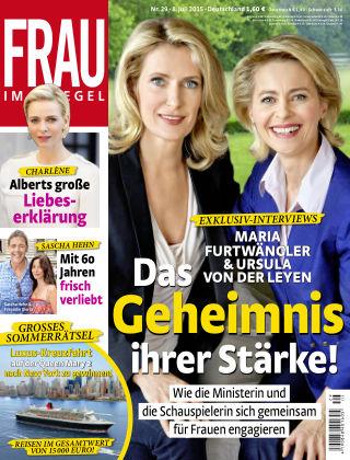Frau im Spiegel NR.29 2015