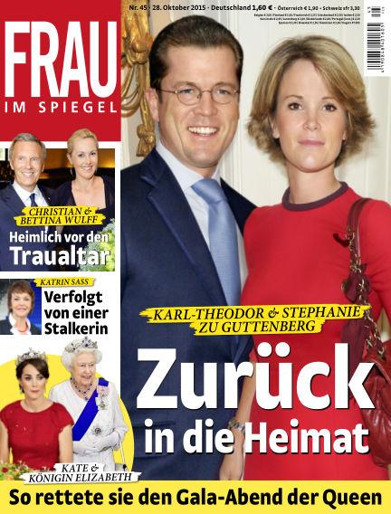 Frau im Spiegel October 28, 2015 00:00