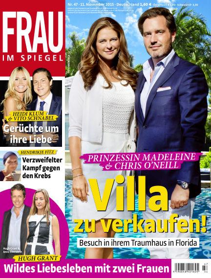 Frau im Spiegel November 11, 2015 00:00