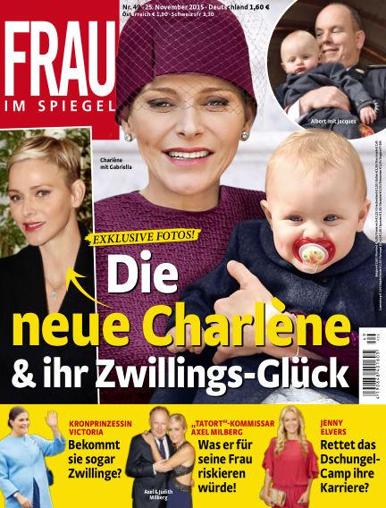 Frau im Spiegel November 25, 2015 00:00
