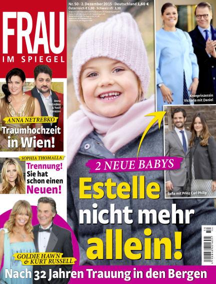 Frau im Spiegel December 02, 2015 00:00