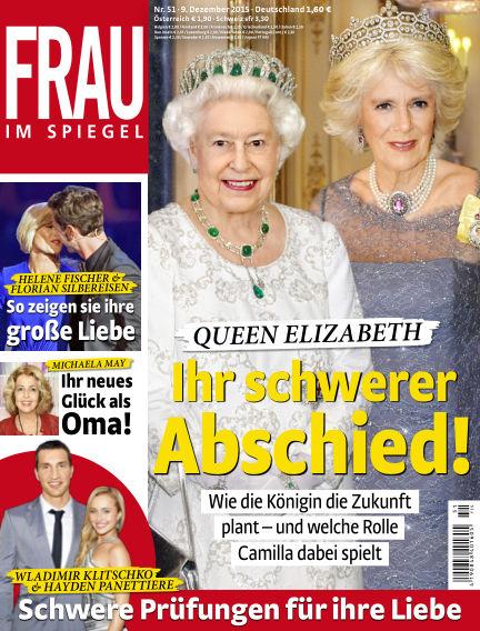 Frau im Spiegel December 09, 2015 00:00