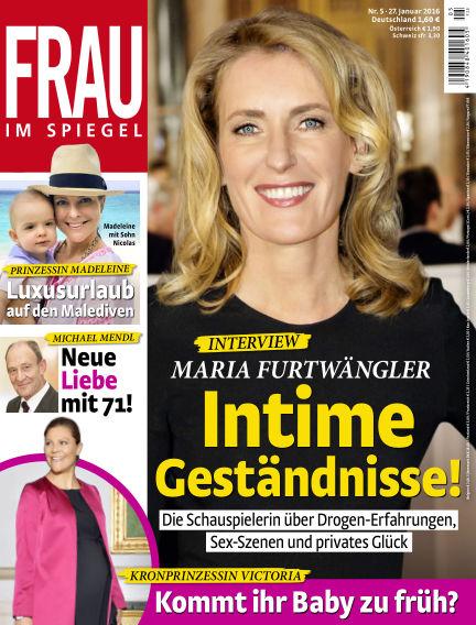 Frau im Spiegel January 27, 2016 00:00