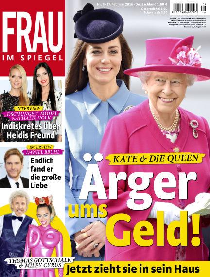 Frau im Spiegel February 17, 2016 00:00