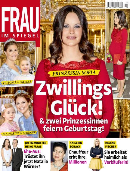 Frau im Spiegel March 02, 2016 00:00