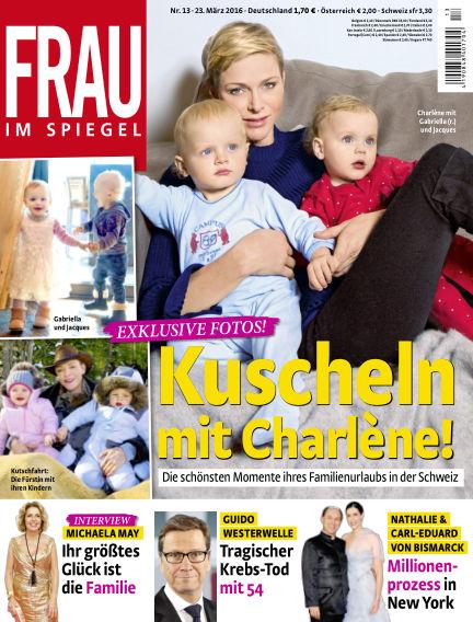 Frau im Spiegel March 23, 2016 00:00