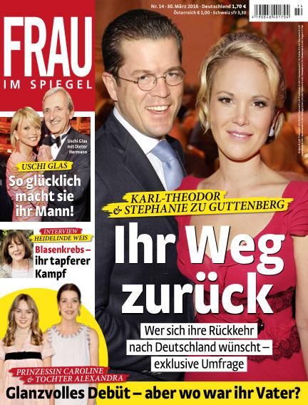 Frau im Spiegel March 30, 2016 00:00