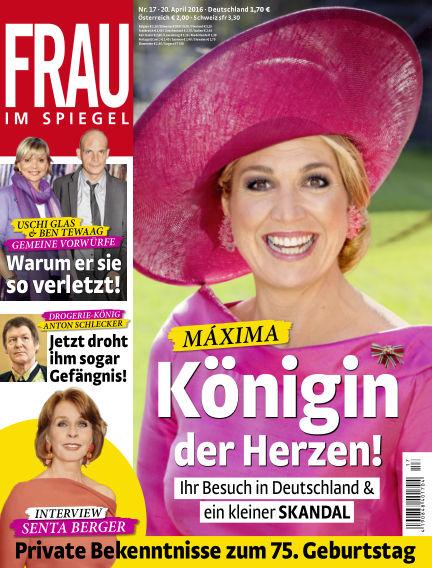 Frau im Spiegel April 20, 2016 00:00