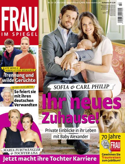 Frau im Spiegel May 25, 2016 00:00