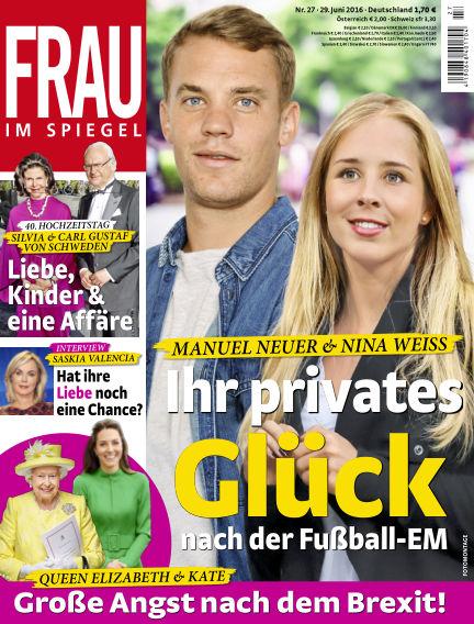 Frau im Spiegel June 29, 2016 00:00