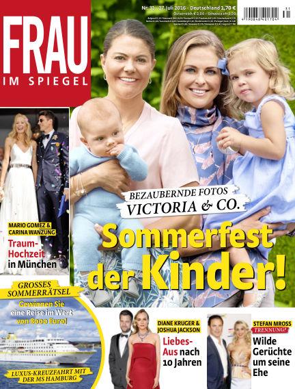 Frau im Spiegel July 27, 2016 00:00