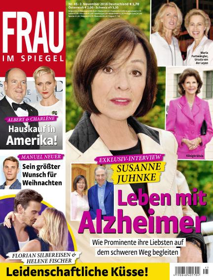 Frau im Spiegel November 02, 2016 00:00