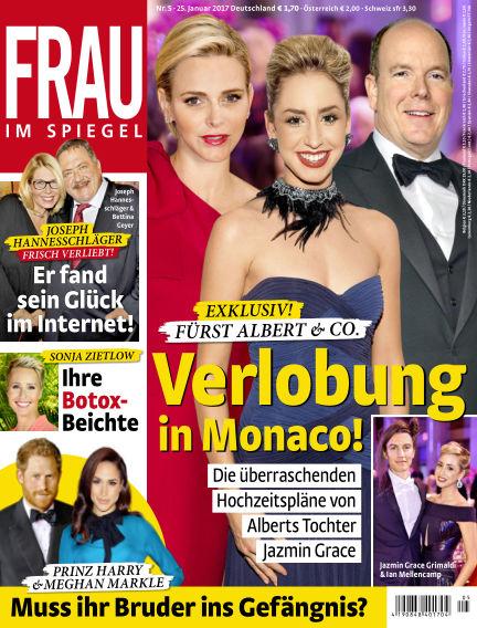 Frau im Spiegel January 25, 2017 00:00
