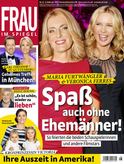 Frau im Spiegel February 01, 2017 00:00