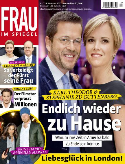 Frau im Spiegel February 08, 2017 00:00