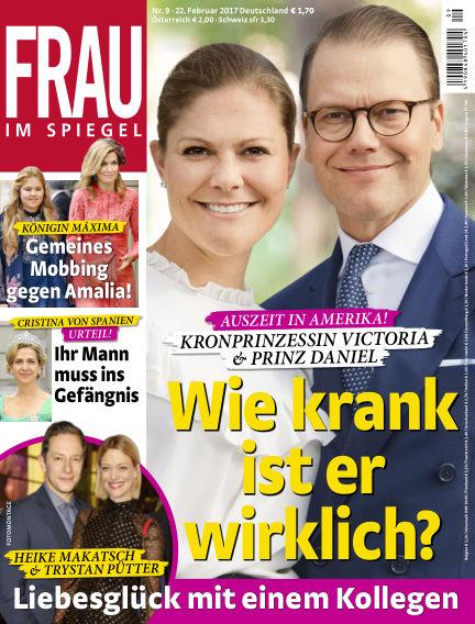 Frau im Spiegel February 22, 2017 00:00