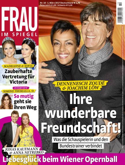 Frau im Spiegel March 01, 2017 00:00