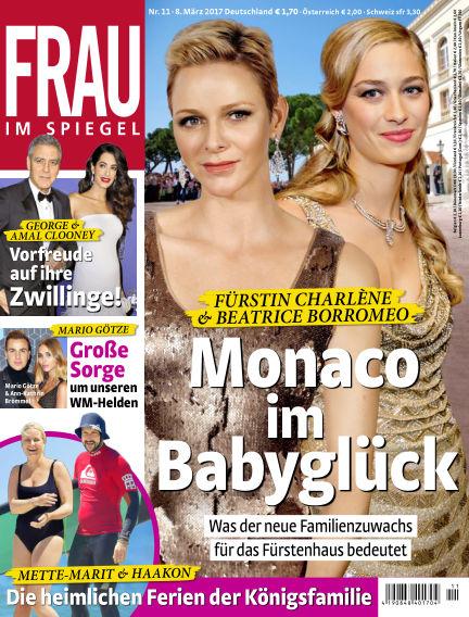 Frau im Spiegel March 08, 2017 00:00
