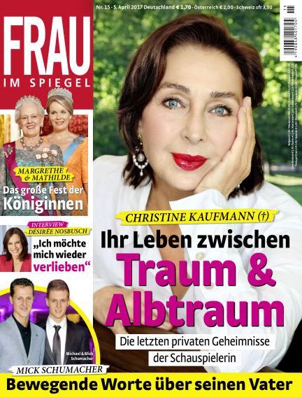 Frau im Spiegel April 05, 2017 00:00