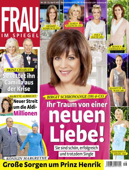 Frau im Spiegel April 11, 2017 00:00