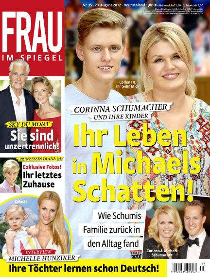 Frau im Spiegel August 23, 2017 00:00
