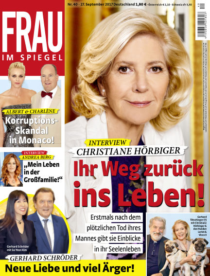 Frau im Spiegel September 27, 2017 00:00