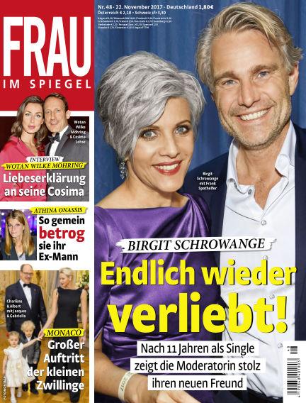 Frau im Spiegel November 22, 2017 00:00
