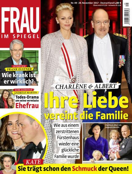 Frau im Spiegel November 29, 2017 00:00