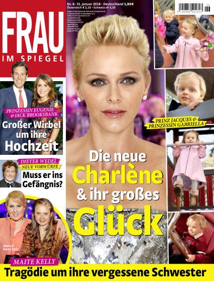 Frau im Spiegel January 31, 2018 00:00