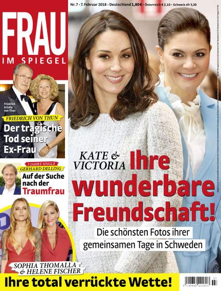 Frau im Spiegel February 07, 2018 00:00
