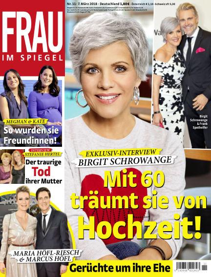 Frau im Spiegel March 07, 2018 00:00