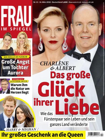 Frau im Spiegel March 14, 2018 00:00