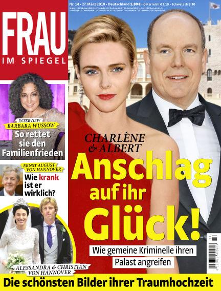 Frau im Spiegel March 27, 2018 00:00