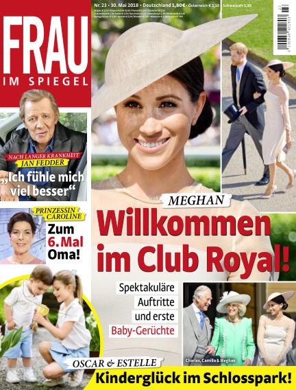 Frau im Spiegel May 30, 2018 00:00