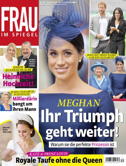 Frau im Spiegel July 18, 2018 00:00