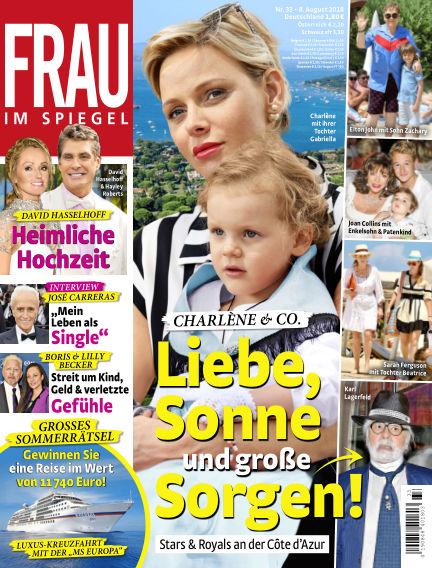 Frau im Spiegel August 08, 2018 00:00