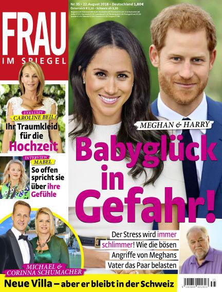 Frau im Spiegel August 22, 2018 00:00