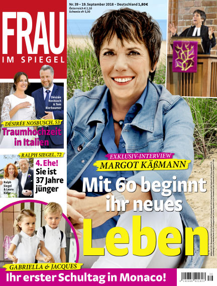 Frau im Spiegel September 19, 2018 00:00