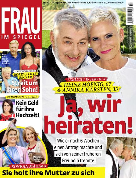Frau im Spiegel September 26, 2018 00:00