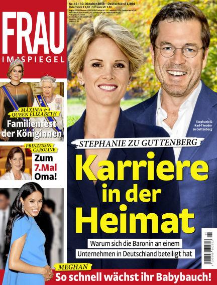 Frau im Spiegel October 30, 2018 00:00