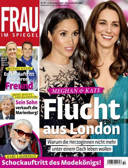 Frau im Spiegel December 05, 2018 00:00