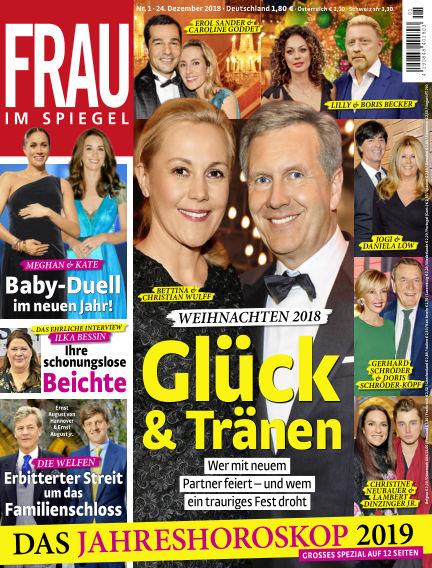 Frau im Spiegel December 24, 2018 00:00