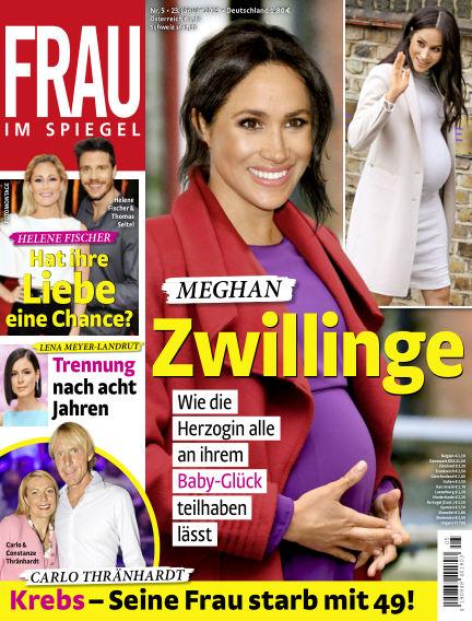 Frau im Spiegel January 23, 2019 00:00